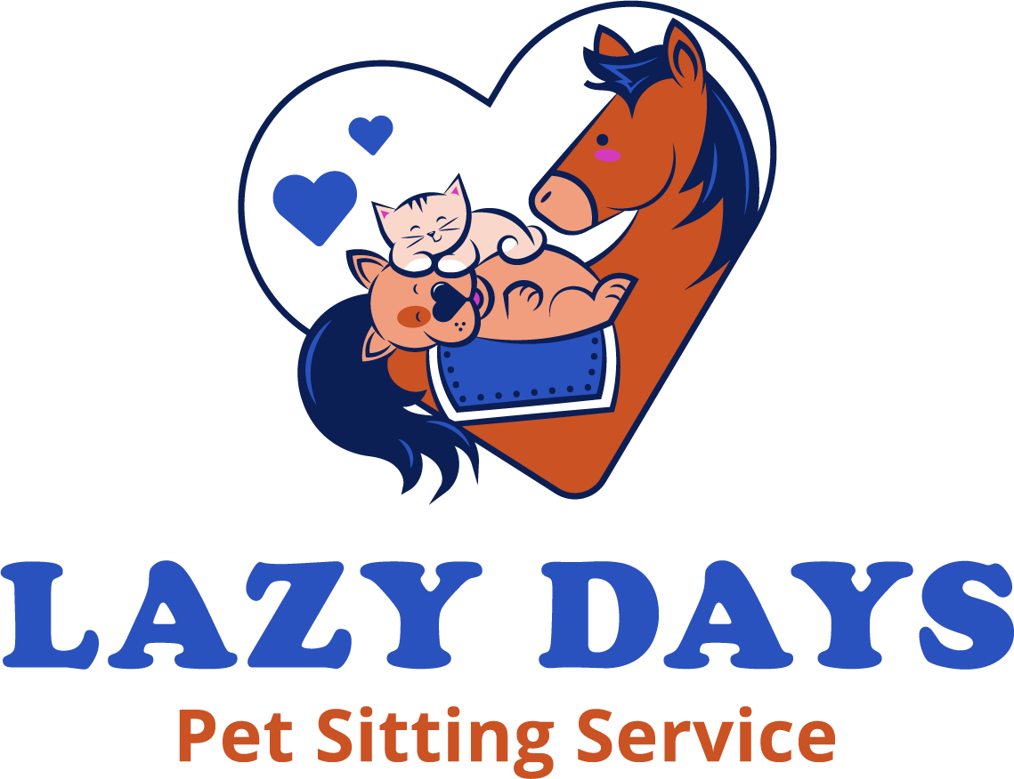 Lazy Days Pet Sitting logo